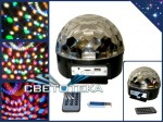 "Диско шар цветомузыка  ЭКОНОМ ""Led Magic Ball Light"" 6 цветов с мп-3 плеером"